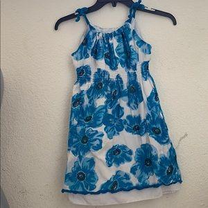 Girls George floral dress size 7